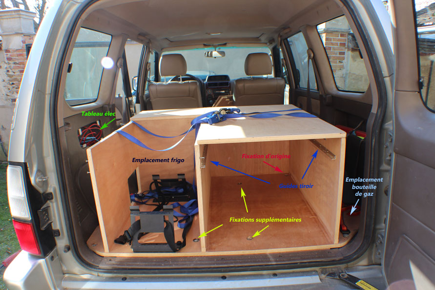 Vehicule 4x4 amenage for Habillage interieur voiture
